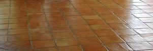 Losas de barro artesanales